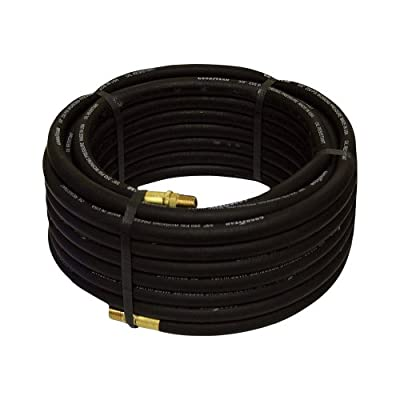Goodyear Rubber Air Hose - 3/8in. x 50ft., Black