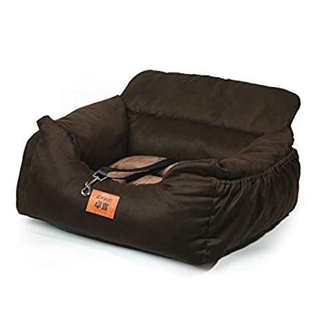 Cama de colchón con cojín Redondo u Ovalado LINCC para Perro ...