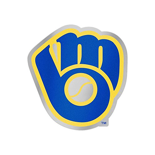 (WinCraft Milwaukee Brewers Glove Auto Badge Decal)