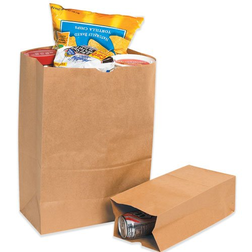 12'' x 7'' x 17 1/6'' Bbl Grocery Bag  (BGG110K) Category: Paper Bags by Box Partner