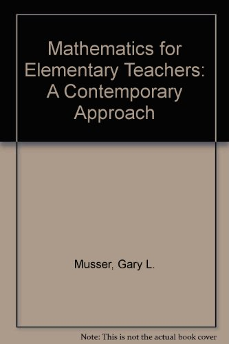 Mathematics for Elementary Teachers: A Contemporary Approach 8th Edition Binder Ready Version with Binder Ready Survey F
