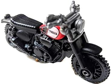 2018 Matchbox MBX Off Road 4-20 Black Yamaha SCR 950 Motorcycle Diecast 4 Thail