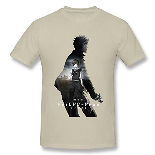 (Men's Psycho Pass Japanese Natural T Shirt by)