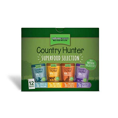 Natures Menu Country Hunter Superfood Selection Cat Pouches 12 x 85g