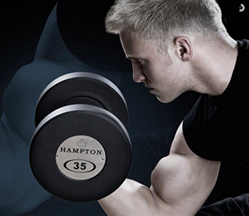 Buy hampton fitness rubber weight