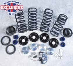 Air Suspension to Coil Spring Conversion Kit (9520LB) for Range Rover P38