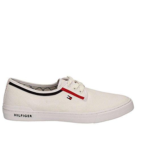 Tommy Hilfiger Schuh H2285Arrington 4D2 Weiss 44 Weiß