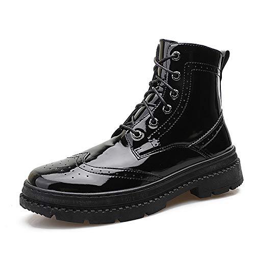 Botas Hombre Antideslizantes Casuales Zapatos Botines Martin Para De Cuero v6wnaRqIE