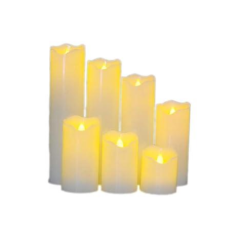 Luz de vela led/vela electrónica/suministros para arreglos ...