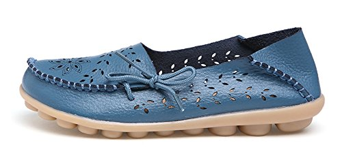 Flat Blue Comfort Women's Venuscelia Breathable Walking Loafer YUvSxqIw