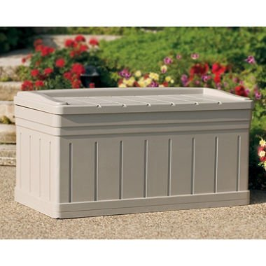 Suncast Outdoor Pool - Suncast 129 Gallon Deck Box