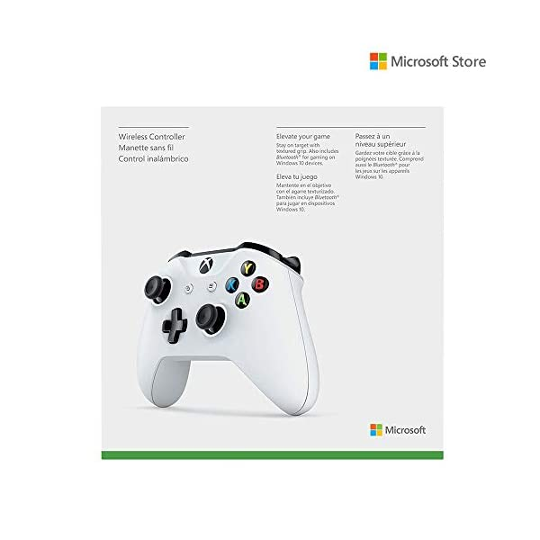 Xbox One S Devil May Cry 5 Special Edition Bundle (1TB) + Microsoft Xbox One Wireless Controller with Bluetooth (With 3.5 mm Jack) (White)