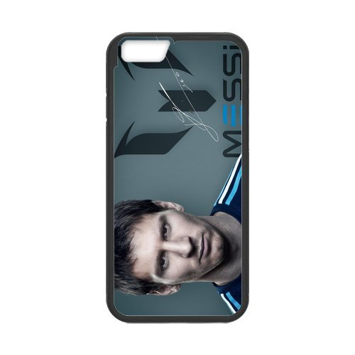 Messi World Cup Player Custom Phone Cases Design for iphone 6 Case with Black Laser Technology