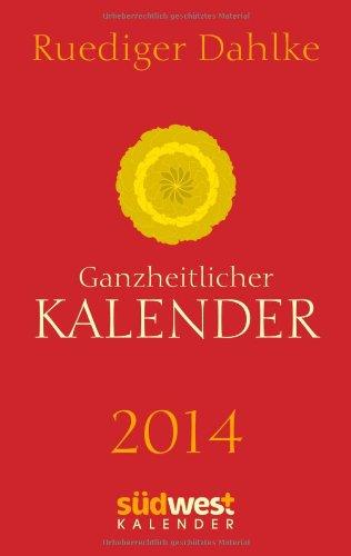 Ganzheitlicher Kalender 2014 Taschenkalender