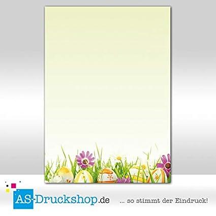 25 Blatt 90 g-Offsetpapier DIN A4 Muscheln Designpapier Sommer
