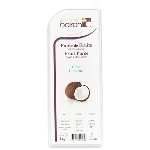 Coconut Boiron Fruit Puree - 2.2 Lbs Kosher