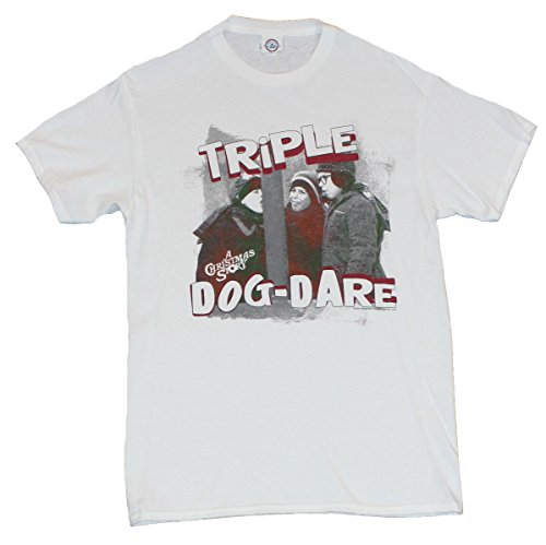 """A Christmas Story Mens T-Shirt - """"Triple Dog Dare"""" Frozen Tongue Incident Image"""