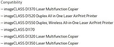 Canon Lasers imageCLASS Cassette Unit-U1 Wireless Color Printer