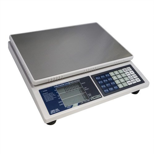 66 LB x 0.004 LB / 30 KG x 2 Gram Large (13 x 9 Inch Tray) Counting Scale Coin Parts Inventory Paper Piece