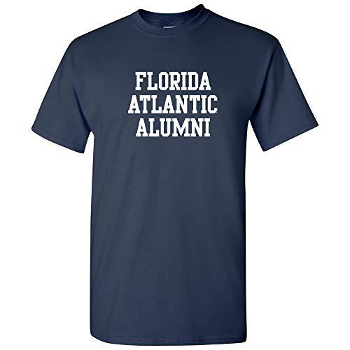 AS05 - Florida Atlantic Owls Block Alumni T-Shirt - Small - Navy