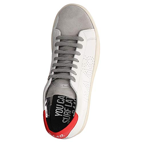 White Red Weiß Sneaker Cojohn1 P448 FIwqWpxt