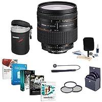 Nikon 24-85mm f/2.8-4 IF AF-D NIKKOR Lens - Accessory Bundle w/72mm Filters & Pro Software