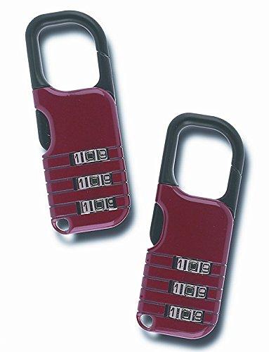 Winner International The Club UTL851D Backpack Lock, Red, Pack of 2 by Winner International