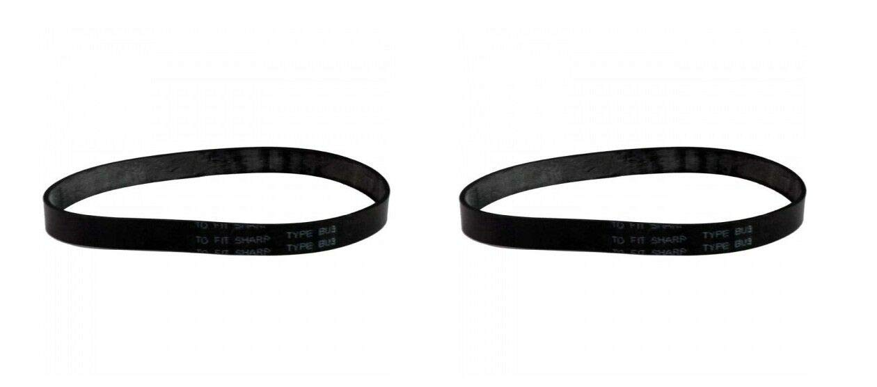 (2) Sharp Vacuum Model EC-T2840 Belts - NEW
