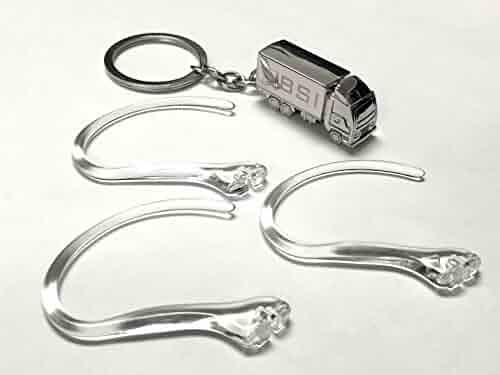 01501c00d5b 3 pcs New Clear Earhooks Compatible with Plantronics Voyager 520 521 835  Explorer 235 320 395