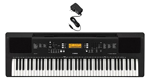 Yamaha PSREW300AD 76-Key Portable Keyboard & Power Supply by Yamaha