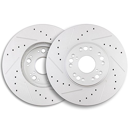 (Brake Rotors,ECCPP 2pcs Front Brake Discs Rotors Brakes Kits fit for 2001-2005 Lexus GS430,2001-2005 Lexus IS300,2002-2010 Lexus SC430,1992-2000 Lexus)