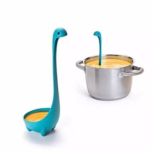 Kitchen Ladle Nessie OTOTO. Unique Gift for Cooking Lovers - Soup Ladle. (Plastic Scoop For Register compare prices)
