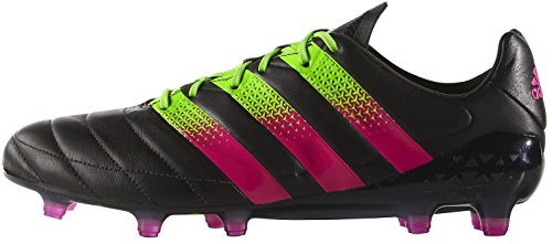 Adidas Ace 16.1 FG/AG Leather – cblack/shopin/sgreen
