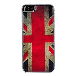 Fashionable The Union Jack Pattern Epoxy Hard Case for iPhone 5/5S Back Case