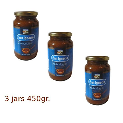 Dulce de leche San Ignacio 450g (paquete de 3)