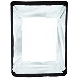 Westcott 4831  24 Inch x 32 Inch Medium with Silver Interior Softbox (Black)