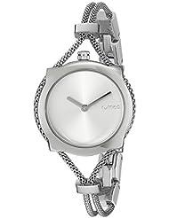 RumbaTime Womens 20250 Gramercy Mesh Analog Display Japanese Quartz Silver Watch