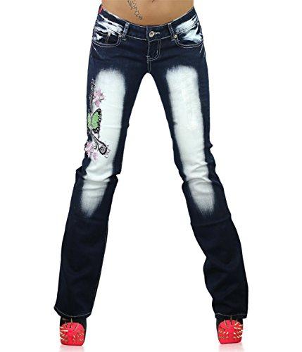 UK 22 50 Womens Navy Crazy Plus Size blue Jeans 14 46 EU 026 20 44 Ladies Green Big Trousers CB 18 16 Age 48 Size 42 Tattoo wxvZft