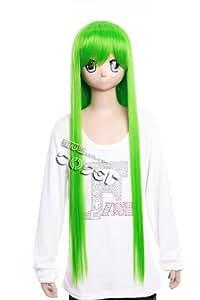 CosplayerWorld Code Geass: Lelouch of the Rebellion C.C Wig 100cm 39inch CosplayWig Manga Anime Wig Party Wigs
