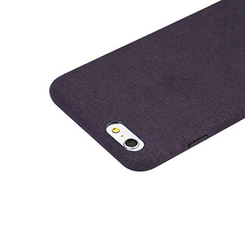 Phone Taschen & Schalen Für iPhone 6 Plus & 6s Plus Ultra Fiber + PC Schutzmaßnahmen zurück Fall ( Color : Dark blue )