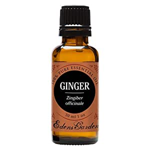 Ginger 100% Pure Therapeutic Grade Essential Oil by Edens Garden- 30 ml