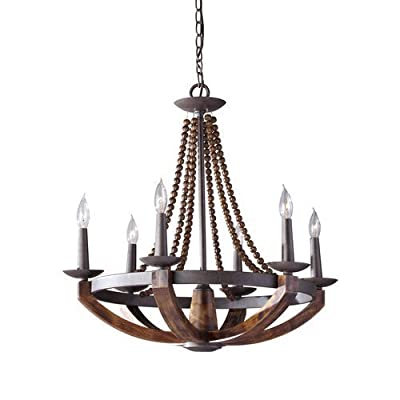 Murray Feiss F2749/6 Adan 6 Light Single Tier Chandelier,