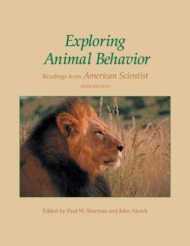 Exploring Animal Behavior: Readings from American Scientist, Fifth Edition