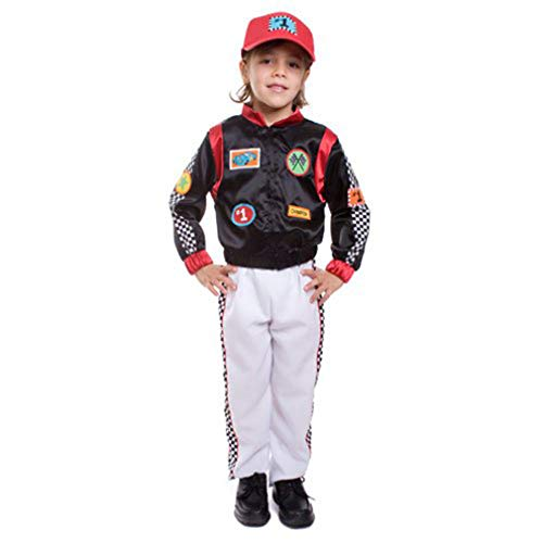 Kids Race Car Driver Costume By Dress Up America - Toddler T2 ()