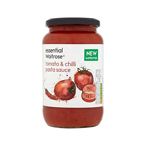 Tomato & Chilli Pasta Sauce essential Waitrose 555g - Pack of 6