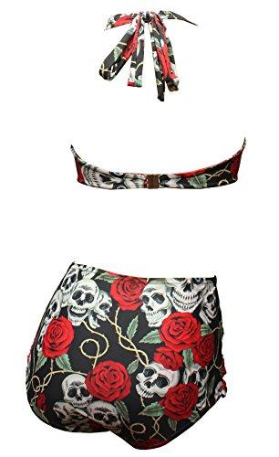 Aloha Multicolore beachwear Pièces Bain 38 Deux Maillot Femme De rrq0gv