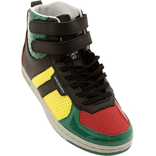 Lo Sneaker The Dicoco - Creative Recreation Womens Dicoco (red/Yellow/Green Patent)