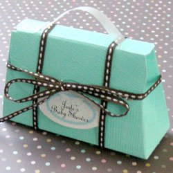 Bridal Shower Favor - Tiffany Blue Handbag Bath Beads Giftset