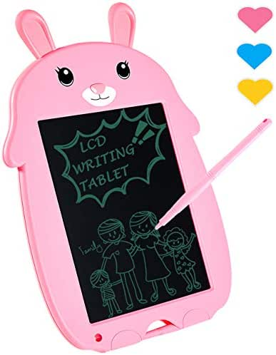 LODBY Reusable LCD Writing Drawing Tablet Kids Toys for 1-8 Year Old Girls/Boys Gifts