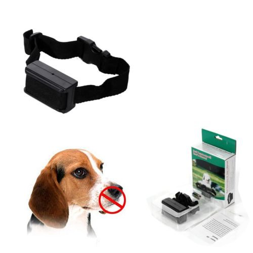 iMeshbean Anti Bark No Barking Dog Training Shock Vibrating Collar for Small Medium Dogs (1 pc)